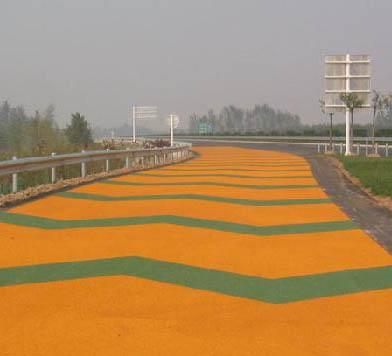 彩色防滑路面地坪系列